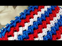 Knitting pattern ❤ Узор спицами ❤ strickmuster ❤ tricot ❤ how to knit ❤ tricô ❤ örgü deseni बुनना Knitting Videos, Knitting Stitches, Knitting Patterns, Stitch Patterns, Sewing, Youtube, Color, Dreadlocks, Crocheting