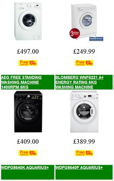 Freestanding Washers - Low Prices  | the widest range of free standing