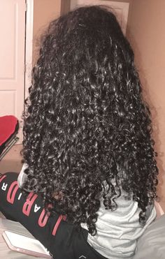 Coiffure Hair, Biracial Hair, Natural Hair Styles, Long Hair Styles, Long Curly Hair, Curly Girl, Hair Journey, Curled Hairstyles, Gorgeous Hair