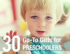 Best Gifts for Preschoolers from the MPMK Toy Gift Guides: This a great list to keep on hand for Christmas and all those birthday parties! Love the detailed descriptions.