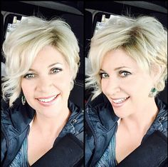 Trendy Shaggy Hairstyles with Blonde Hair - Messy Short Haircut Designs 2015 - 2016