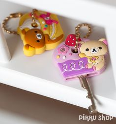 Rilakkuma Key Cover set from Pikku Shop | www.pikku-shop.com