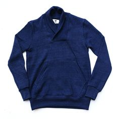 Farm Tactics heavyweight cotton indigo sweater