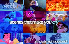 Let's face it...what about Disney DOESN'T make me cry?!?