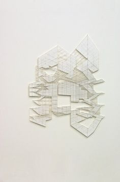 CATH CAMPBELL Islands In The Stream 2009 Pencil on Paper 124 x 90 cms 48.86 x 35.46 inches