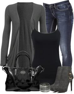 These are outfit ideas for layering in the fall and spring. There's a refreshing striped outfit idea for you to go casual in your daily looks. You can pair with Komplette Outfits, Winter Outfits, Fashion Outfits, Womens Fashion, Fashion Trends, Outfits For Women, Fashion Styles, Fashion Ideas, Fashion 2014