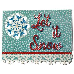 JMRush Designs: Let it Snow Card
