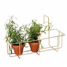 Altantrådkasse til planter fra Base212 - Have/altan - DesignFund