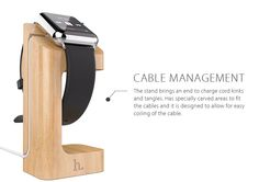 Apple Watch Wood Charging Stand Beech . More Convenient For your life .Check it out on www.1deals.us