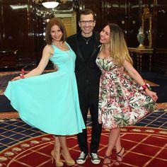 Ну , и похулиганить конечно же :-) как же без этого на официальной фотографии :-))) на ужине , приуроченном к презентации и показу часового бренда Titan  @miuz_ru  #RitzCarltonMoscow #prtrend #prtrendrussia #Titan #RitsCarlton #ириналачина #позитив #прекрасныйвечер @marinadegolle.fashion