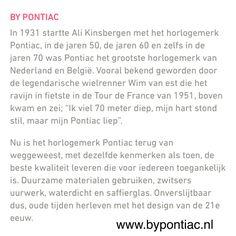 --- Historie van Pontiac ---