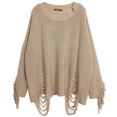 Cropped Beige Sweater ($84) ❤ liked on Polyvore featuring tops, sweaters, brown tops, beige top, cropped sweater, brown crop top and acrylic sweater