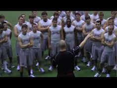 As a coach, i would created a work out plan for my team. The Mississippi State's work out video is a great example of a good work out for a team. I would base my workout after this video.