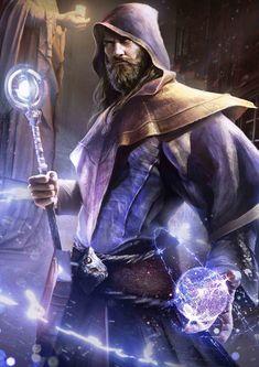 Wizard - DnD Class #DungeonCrawling #DnD #Wizard #DnDClass #Character #Inspiration #Magic #Fantasy #JRusso