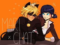 marichat by onnos (Miraculous Ladybug)