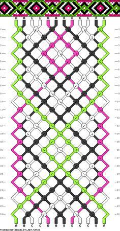 12 fils - 4 couleurs