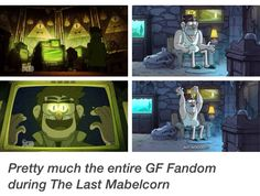 More or less, that's us. In short, people who don't watch GF, the creator of GF is now officially our Moffat