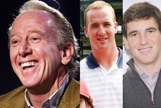 Archie and Peyton/Eli Manning (NFL)—Now