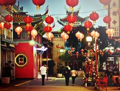 Chinatown, Los Angeles. My Aunt Mary loved to come here for her birthday.