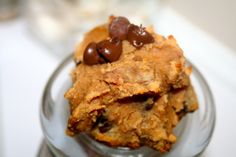 Paleo Chocolate Chip Cookies - I am not sure if the honey is even needed, but it is a very small amount for that amount of cookies this recipe makes, so it could be worse.