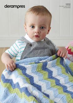 Blankets in Deramores Baby DK (1002) | Deramores