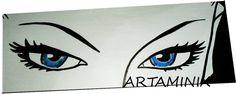 Eva Kant sexy eyes! #comic #famous #handmade #pop #art #fumetti #diabolik #love #cute
