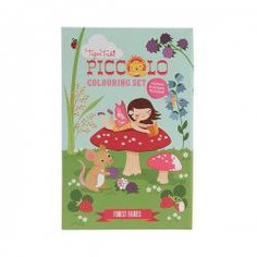 Little Boo-Teek - New Arrivals Tiger Tribe Piccolo Colouring Set Forest Fairies $16.95  www.littlebooteek.com.au #littlebooteekau #newarrivals #presents #kids #baby #gifts