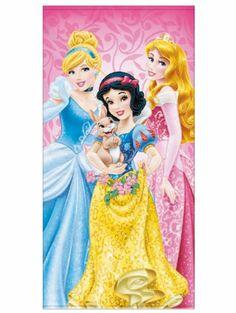 Prinsessat-pyyhe Jokainen prinsessa haluaisi kietoutua näin ylelliseen pyyhkeeseen. Mitat: 70 x 140 cm. 100% puuvillaa. Koneellinen 60 asteen pesu.