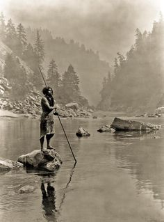 Edward. S. Curtis. Resonates the past of Native Americans and their culture. (although many were posed.)