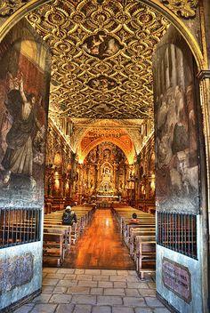 Quito, Ecuador, Capilla de la Iglesia de San Francisco