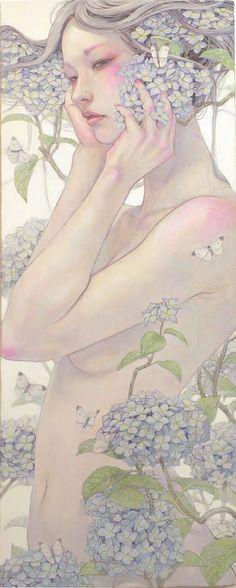 うたげー紫陽花ー WF6 Canvas