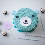 Sweetest Of Them All: Strawberries + Cream Birthday Cake | Coco Cake Land