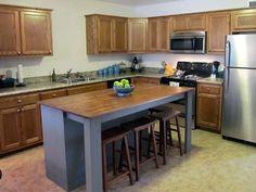 Diy Kitchen Island Diy Kitchen Island From A Dresser Home