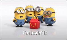 Minion: I'm lovin' it!, McDonald's