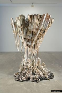 Sculptures with Ephemeral Materiality // Diana Al-Hadid |