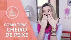 COMO TIRAR CHEIRO DE PEIXE (do ambiente, da cozinha e das mãos)  para mais dicas, clique na #aDicadoDia COM FLÁVIA FERRARI