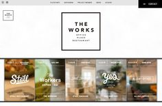 THE WORKS|Web Design Clip