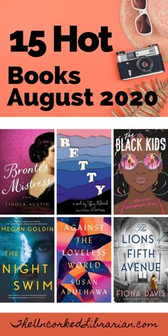 Are you looking for new books to read this 2020?  Don't miss some of the best August 2020 book releases on our reading list. Great Books To Read, New Books, Good Books, Literary Travel, Fiction Books, Book Nerd, Book Recommendations, Book Lists, Librarians