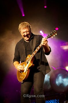 Alex Lifeson~ Guitarist for Rush