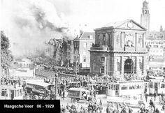 Brand aan het Haagse Veer 1929