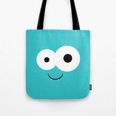Monster Book Bag Tote  Tote Bag  Beach Bag  by ShelleysCrochetOle