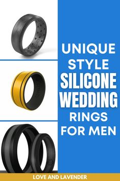 Do you consider buying a silicone wedding ring? Here are a few unique style silicone wedding rings that can withstand your adventurous side! Catch it here... #siliconerings #siliconeringsformen #siliconeweddingrings #siliconeweddingbands Best Silicone Rings, Tickle Fight, Silicone Wedding Band, Girl Thinking, Metal Bands, How To Look Pretty, Wedding Bands, Rings For Men, Mens Fashion