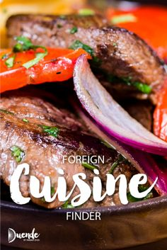 Food from Japan to Peru with an interesting common thread|Foreign Cuisine Finder 2 | Duende by Madam ZoZo