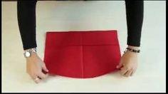 pliage de serviette en papier - YouTube