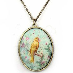 Bird on Branch Necklace – ASK ALICE by All Gifts Online Branch Necklace, Pendant Necklace, Bird On Branch, All Gifts, Online Gifts, Alice, Birds, Illustration, Jewelry