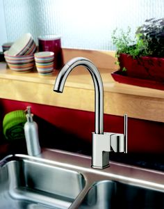 Danze Como Single Handle Pull-Down Kitchen Faucet