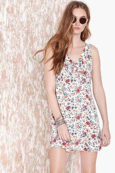 Gardenial Dress - Vintage