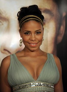 Check out these 12 images of Sanaa Lathan Hair (formal & wedding hairstyles for black women). Find more images in black hairstyles,thick hairstyles,updo hairstyles. Sanaa Lathan, Black Actresses, Classic Actresses, Ebony Girls, Queen Hair, Ebony Beauty, Black Beauty, Beautiful Black Women, Stunningly Beautiful