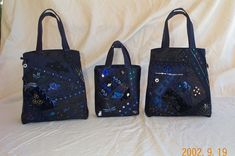 Wedding Party Purses - Crazy Quilting | Flickr - Photo Sharing!