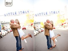 Stephanie & Mason's Engagement Session | Sean Walker Photography | Little Italy, San Diego